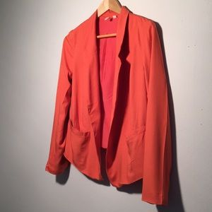 French I Sunday blazer lite-weight coral b